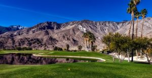 terrain de golf montagne