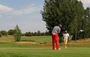 practice pour apprendre le golf